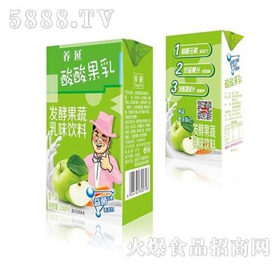 养延酸酸果乳发酵果蔬乳味饮料250ml