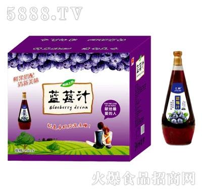 汇甜蓝莓汁420mlX15