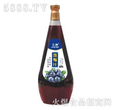 汇甜蓝莓汁1.5L
