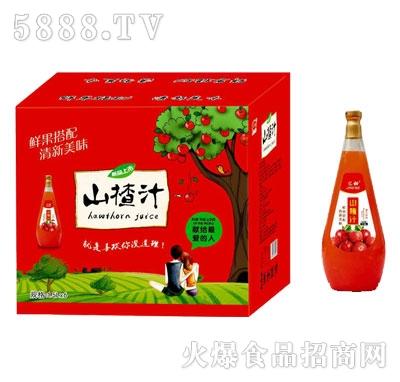 汇甜山楂汁1.5LX6瓶
