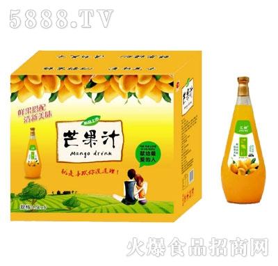 汇甜芒果汁1.5LX6瓶
