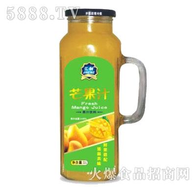 汇甜芒果汁1L
