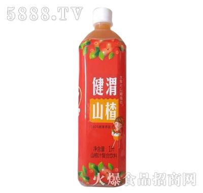 健渭山楂汁1L