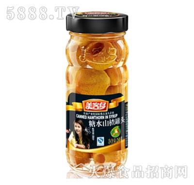 美客多糖水山楂罐头268g