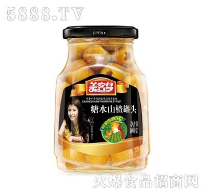美客多糖水山楂罐头1000g