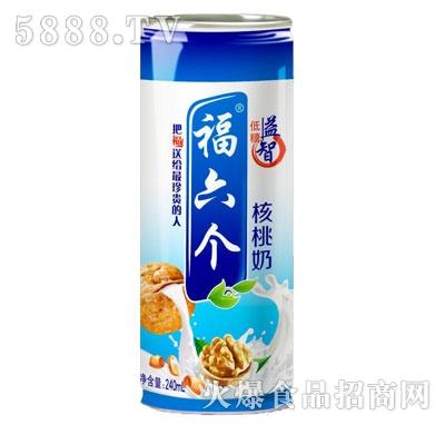 福六个核桃奶240ml