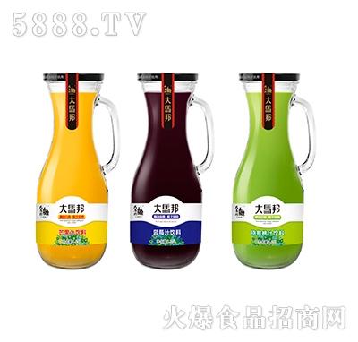 大马邦1.5L半把手柄瓶-三款芒果、蓝莓、猕猴桃