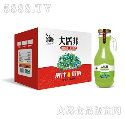 大马邦1.5Lx6猕猴桃汁手柄瓶
