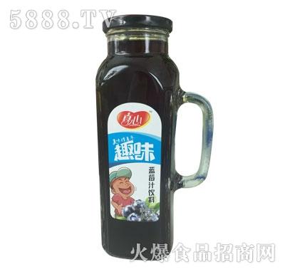 真心蓝莓汁饮料960ml