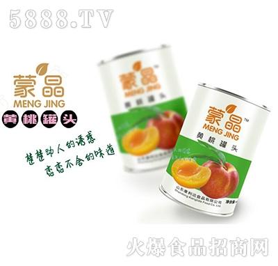蒙晶黄桃罐头