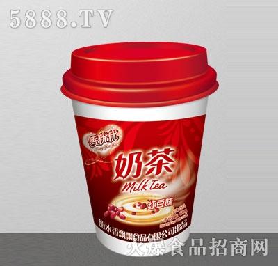 香优优奶茶红豆味80g