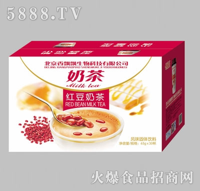 香飘飘红豆奶茶65gx30杯