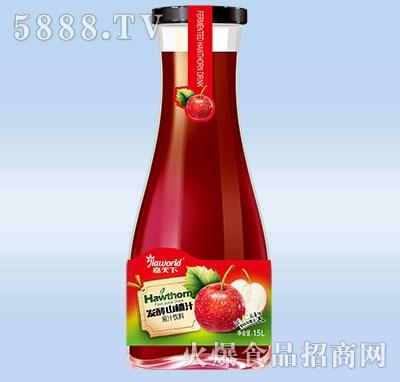 1.5L嘉天下发酵山楂汁