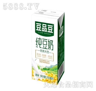 豆品豆纯豆奶250ml