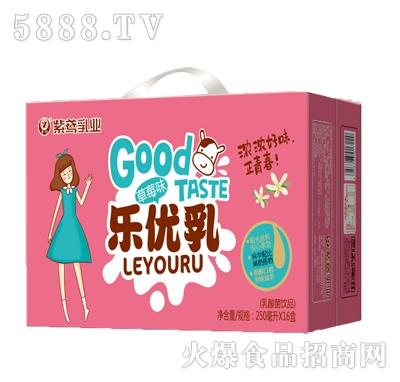 乐优乳草莓味250mlx16盒