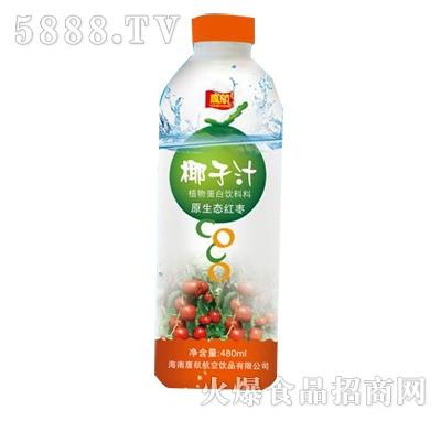 鹰航红枣椰子汁480ML