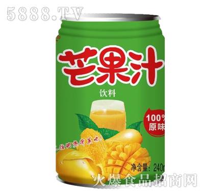 欧珍芒果汁240ml