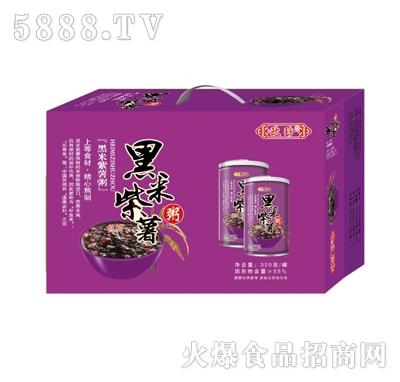 欧珍黑米粥320g箱装产品图