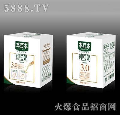 本豆本纯豆奶200毫升X12瓶