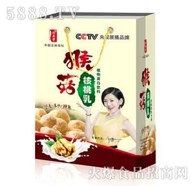 猴菇核桃乳露礼盒装240mlx8罐