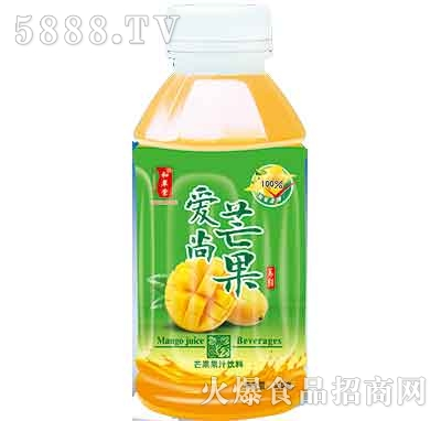 爱尚芒果果汁饮料500ml