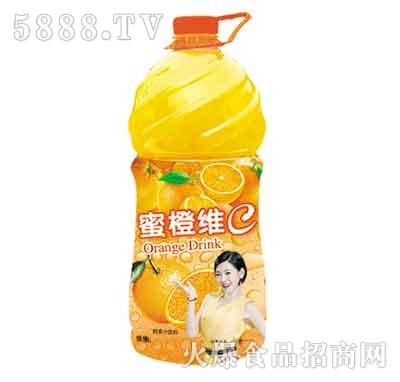 蜜橙维c橘子果汁580ml