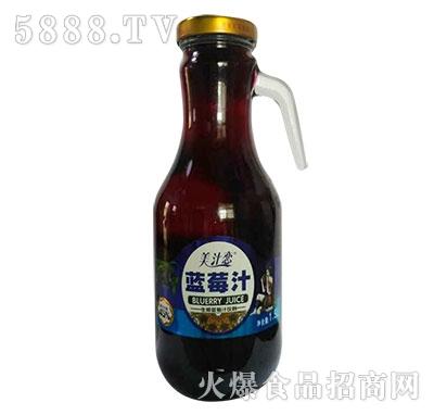 美汁恋蓝莓汁1.5L