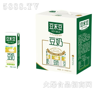 豆禾豆豆奶利乐250mlx12盒