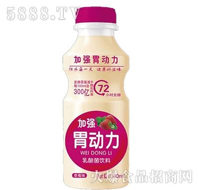 加强胃动力乳酸菌草莓味340ml
