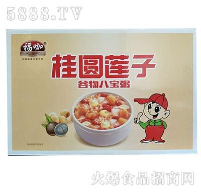 福咖桂圆莲子谷物八宝粥