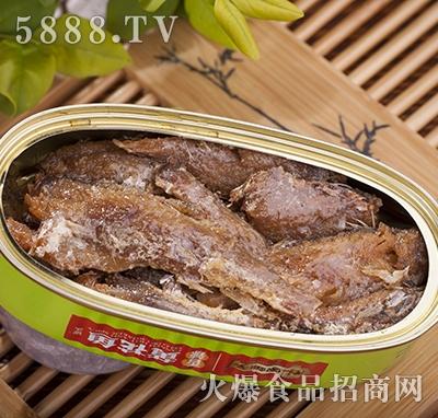 林家铺子香辣黄花鱼罐装产品图