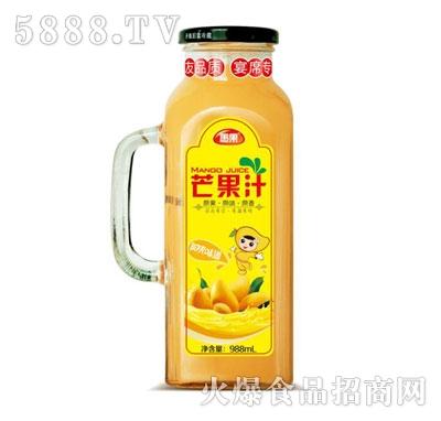 愚果芒果汁988ml