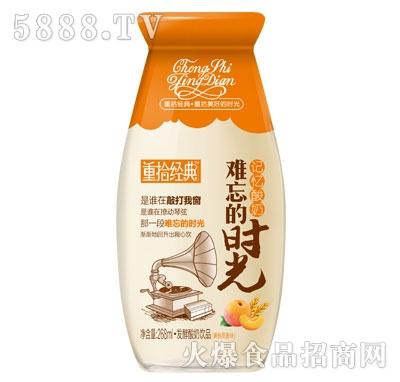 重拾经典发酵酸奶饮品黄桃燕麦味268ml