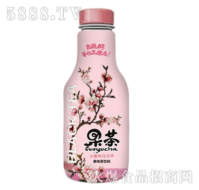 果茶水蜜桃乌龙茶480ml