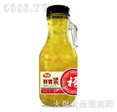 开胃菜椰果菠萝复合果汁饮料1.5L