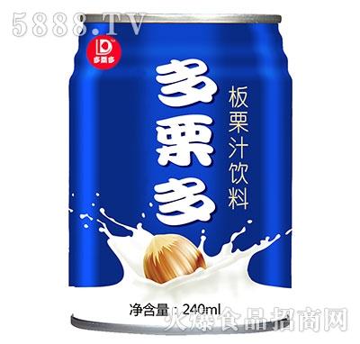 多栗多板栗汁饮料240ml