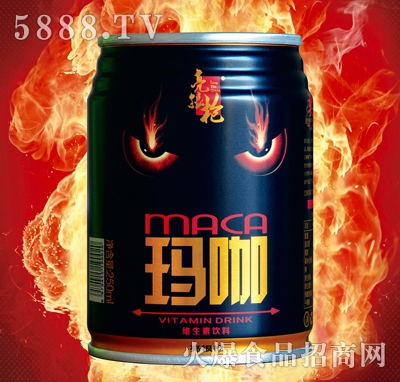 亮根枪玛咖强化维生素饮料罐装