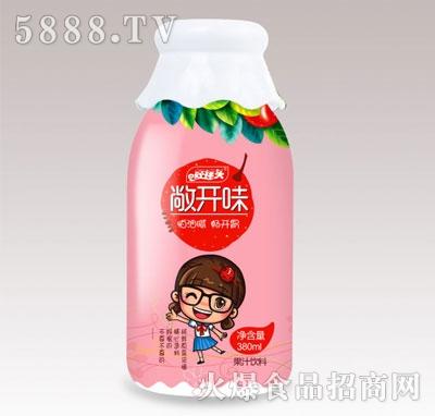 好祥头敞开味山楂汁饮料380ml