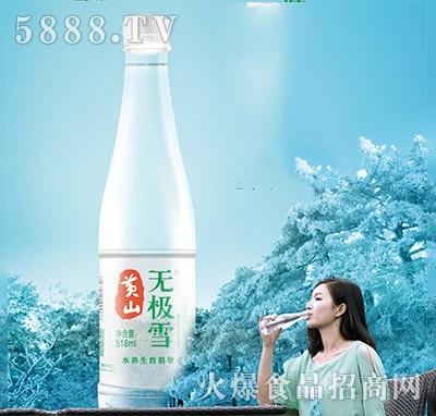 黄山无极雪饮用水518ml