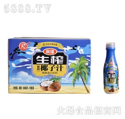 雨瑞生榨果肉椰子汁500mlX15瓶