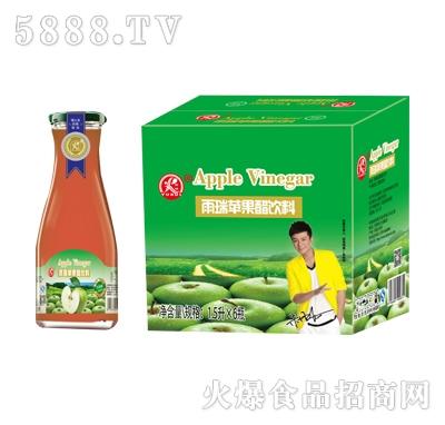 雨瑞苹果醋1.5LX6瓶(大口)