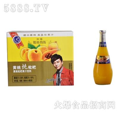 雨瑞黄桃炖枇杷1.5LX6瓶