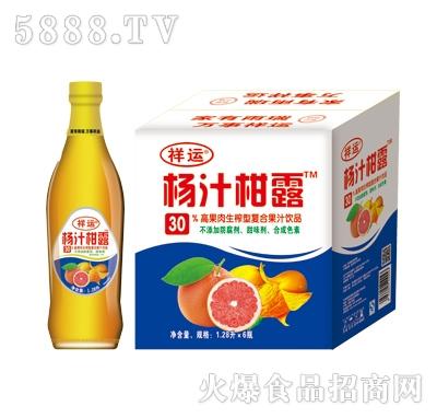 祥运杨枝柑露1.28LX6瓶