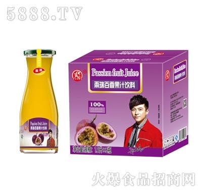 雨瑞百香果汁饮料1.5LX6瓶