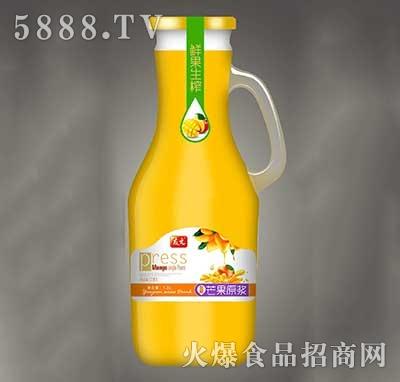 友元鲜果生榨芒果汁瓶装
