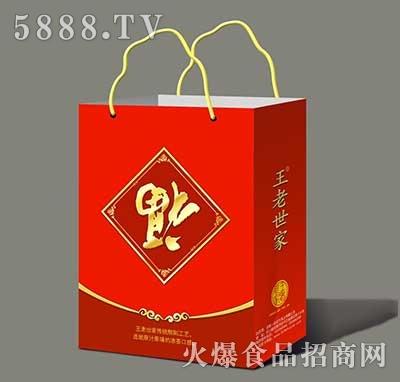 王老世家凉茶植物饮料礼盒装
