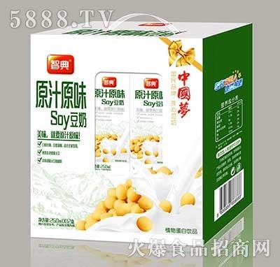 智典原汁原味soy豆奶