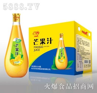乡村伙伴芒果汁介绍: 产品名称:乡村伙伴蓝莓汁 配料:纯净水,浓缩芒果