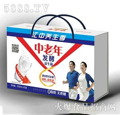 中老年发酵益生菌200mlx12