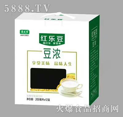养生季红乐豆豆浓饮品200mlx12